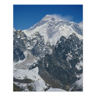 Nepal Himalaya vista de Mt Everest de Gokyo Posters