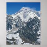 Nepal, Himalaya, vista de Mt Everest de Gokyo Póster