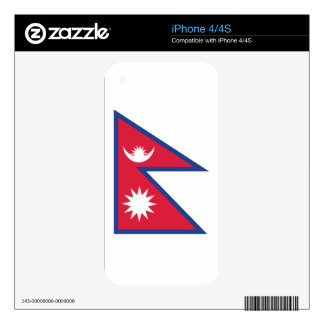 Nepal iPhone 4 Decals