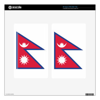 Nepal Kindle Fire Decals