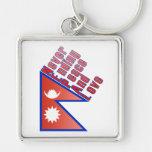 Nepal - llavero interminable de la paz y del amor