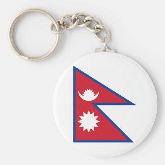 Nepal Llavero Redondo Tipo Pin