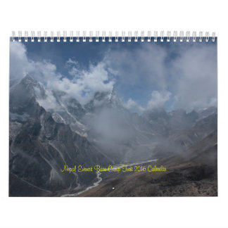 Nepal Mount Everest Base Camp  2 Calendar