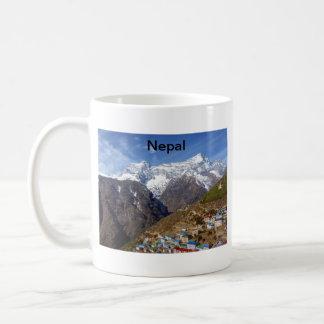Nepal Classic White Coffee Mug
