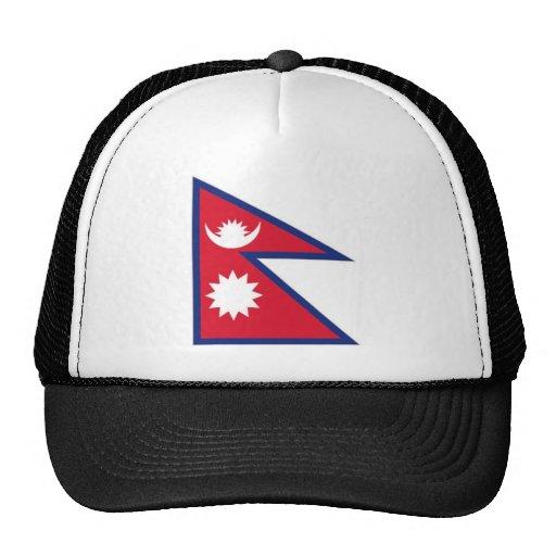 Nepal National Flag Trucker Hat