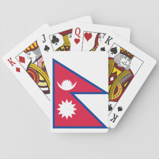 Nepal National World Flag Playing Cards