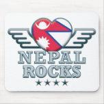Nepal oscila v2 alfombrilla de ratones