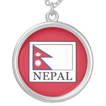 Nepal Silver Plated Necklace