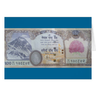 Nepalese Banknote Cards