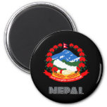 Nepalese Emblem Magnets