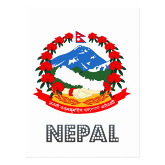 Nepalese Emblem Post Card