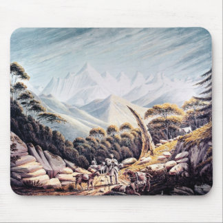 Nepalese Herdsmen in the Himalayas, 1826 Mouse Pad