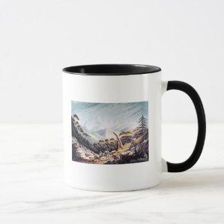 Nepalese Herdsmen in the Himalayas, 1826 Mug
