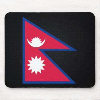 Nepalese National flag of Nepal-01.png Mouse Pad
