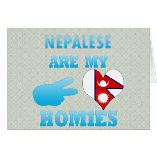 Nepaleses are my Homies Greeting Card