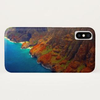 Nepali Coast Kauai Hawaii iPhone X Case