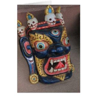 Nepali Mask Cards