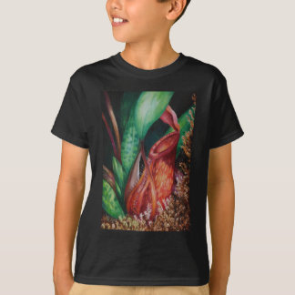 Nepenthes Of Borneo Watercolor Art T-Shirt