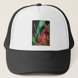 Nepenthes Of Borneo Watercolor Art Trucker Hat