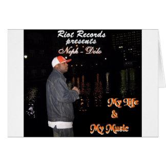 Neph - Dolo   My Life & My Music Card
