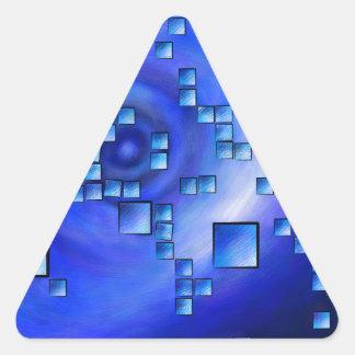 Nepheros V1 - planet square Triangle Sticker