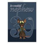 Nephew - 30th Birthday Card Mouse