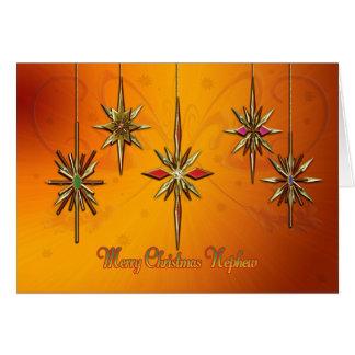 Nephew Christmas card