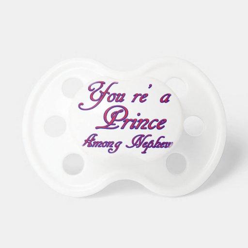 nephew design baby pacifiers