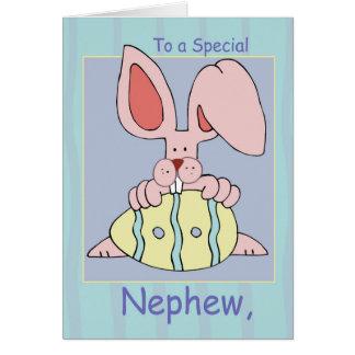 Nephew Ear-Resistible Easter Card