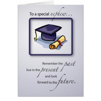 Nephew, Graduation Congratulations Remember the Pa Card