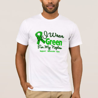 Nephew - Green  Awareness Ribbon T-Shirt