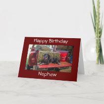 ***NEPHEW*** HAPPY BIRTHDAY CARD