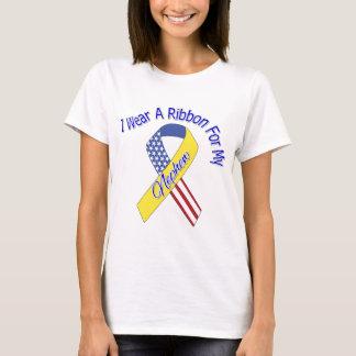Nephew - I Wear A Ribbon Military Patriotic T-Shirt