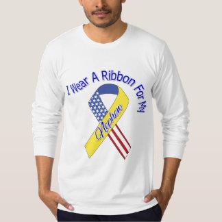 Nephew - I Wear A Ribbon Military Patriotic Tshirts