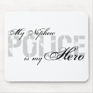 Nephew Is My Hero - POLICE Mouse Pad