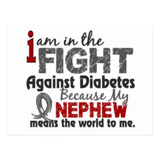 Nephew Means World To Me Diabetes Postcard