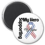 Nephew - Military Supporting My Hero Fridge Magnets