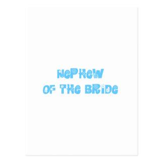 Nephew of the Bride Postcard