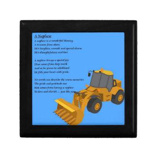Nephew Poem - Digger Jewelry Box
