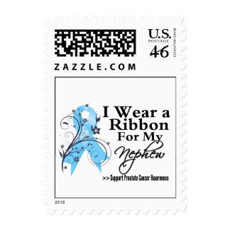 Nephew Prostate Cancer Ribbon Stamp