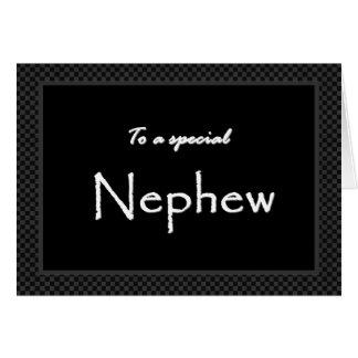 NEPHEW Ring Bearer Wedding Invitation Greeting Card