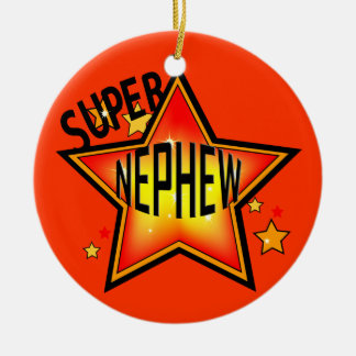 Nephew Super Star Christmas Ornament
