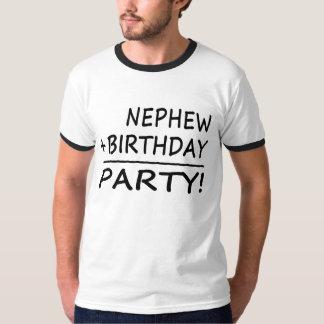Nephews Birthdays : Nephew + Birthday = Party T Shirt