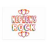 Nephews Rock Postcard
