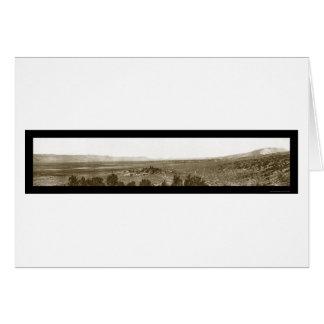 Nephi Valley Utah Photo 1910 Card