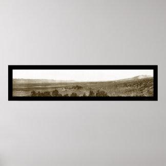 Nephi Valley Utah Photo 1910 Poster
