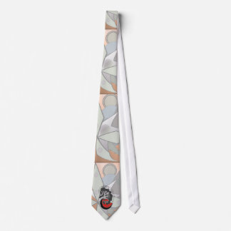 Nephrologist Abstract Tie With Kidney Design
