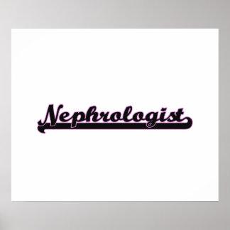 Nephrologist Classic Job Design Poster