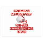 Nephrologist .. Fantasy Football Expert Post Cards