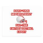 Nephrologist .. Fantasy Football Expert Postcard